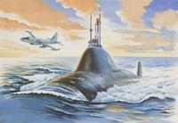 Подводная лодка проект 705. ЕЕ40006 ВЭ 1/400