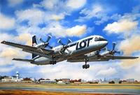 Ил-18 Экспортный пассажирский самолет. ЕЕ14465 ВЭ 1:144