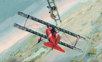 «Сименс-Шуккерт Д-III» Истребитель WWI (Siemens-Schuckers D.III). ВЭ 72154 ВЭ 1:72