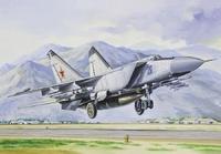 МиГ-25ПД Истребитель-перехватчик. ЕЕ72124 ВЭ 1:72