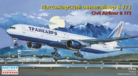 Авиалайнер Боинг-773  Трансаэро. 14477 EE 1:144