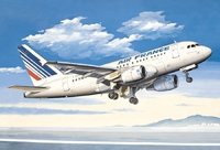 A-318 Авиалайнер АК «Эйр Франс» (A-318 Air France). ЕЕ14429 ВЭ 1:144