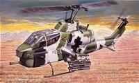 AH-1W Super Cobra ударный вертолет. 0160 Italeri 1:72