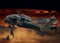 """UH-60 Black Hawk """"Night Raid"""" многоцелевой вертолет. 1328 Italeri 1:72"""