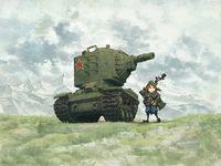 КВ-2 тяжелый танк. WWT-004 Meng