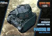 Pz III мультяшный танк. WWT-005 Meng