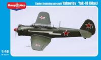 Як-18 учебно-тренировочный самолет. 48-011 MikroMir 1:48