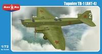 ТБ-1 (АНТ-4) тяжелый бомбардировщик. 72-008 MikroMir 1:72