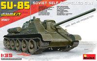 СУ-85 ПТ САУ середина 1943 с интерьером. 35187 MiniArt 1:35