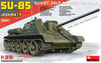 СУ-85 ПТ САУ средних серий 1943 г. 35187 MiniArt 1:35