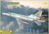 Ту-22КДП дальний ракетоносец с ракетой Х-22 - 72046 Modelsvit 1:72