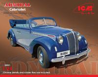 Admiral кабриолет модель 1937. 24021 ICM 1:24