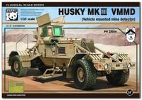 «Хаски-3» автомобиль-миноискатель (VMMD Husky Mk III). PH35014 Panda Hobby 1:35