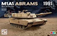 М1А1 «Абрамс» ОБТ операция «Буря в пустыне». RM-5006 Rye Field Model 1:35