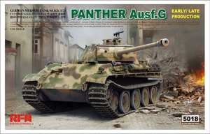 Panther Ausf G (Пантера-Г ранняя / поздняя) - 5018 Rye Field Model 1:35