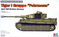 Т-VI «Тигр-I» тяжелый танк боевая группа «Ферман». RM-5005 Rye Field Model 1:35