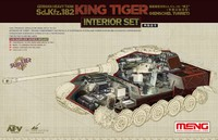 Интерьер Т-VIВ «Королевский Тигр» тяжелого танка с башней «Хейншель». SPS-037 Meng 1:35