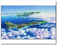 Су-15ТМ истребитель-перехватчик. 01623 Trumpeter 1:72