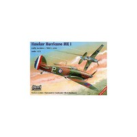 Hurricane MK I истребитель. SW72012 Sword 1:72