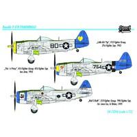 P-47N Thunderbolt истребитель сопровождения. SW72046 Sword 1:72