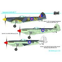 Seafire Mk. XVII палубный истребитель. SW72058 Sword 1:72