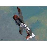 T-28B Trojan учебно-тренировочный самолет. SW72066 Sword 1:72