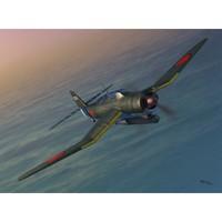Aichi B7A2 Ryusei Kai «Грэйс» палубный бомбардировщик-торпедоносец. SW72069 Sword 1:72