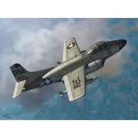 F3D-2T2 Skyknight палубный истребитель. SW72075 Sword 1:72
