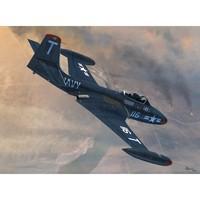 F2H-2 Banshee палубный истребитель. SW72077 Sword 1:72