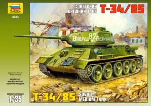 Т-34-85 средний танк. 3532 Звезда 1:35