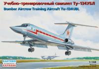 Ту-134УБЛ Учебно-тренировочный самолет ДА ВВС. ЕЕ14418 ВЭ 1:144