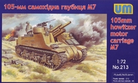 M7 105-мм самоходная гаубица - UM-213 Unimodel 1:72