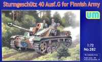 Sturmgeschutz 40 Ausf. G немецкая САУ для финской армии - UM-282 Unimodel 1:72