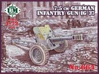 IG 37 7.5 см немецкая пехотная пушка - UMmt-664 UM Military Technics 1:72