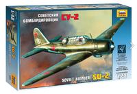 Су-2, бомбардировщик.  Сборная модель самолета в масштабе 1:48 <4805 zv>
