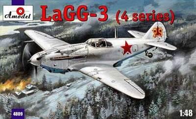 ЛаГГ-3 - 4809 Amodel 1:48