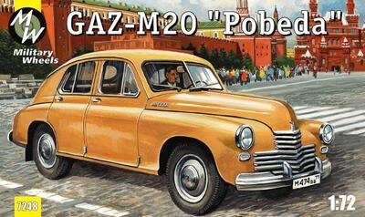 Автомобиль ГАЗ М-20 Победа. Масштаб 1/72