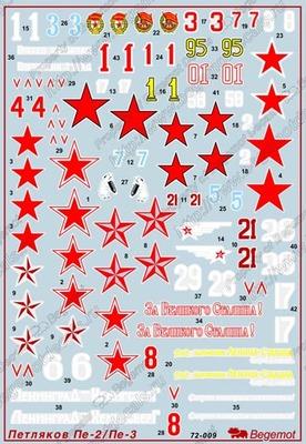 Петляков Пе-2(3). Масштаб 1/72