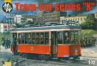 """Трамвай серии """"X"""". Масштаб 1/72"""