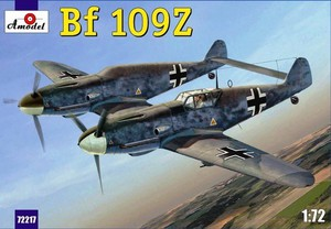 Bf.109Z Zwilling - 72217 Amodel 1:72