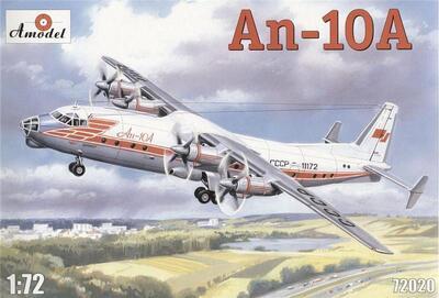 Ан-10А - 72020 Amodel 1:72