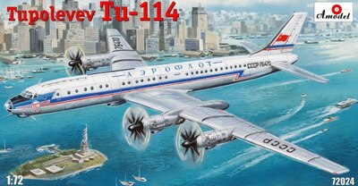 Ту-114 - 72024 Amodel 1:72