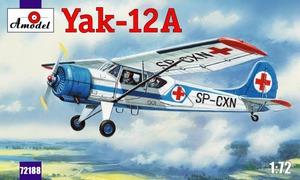 Як-12А - 72188 Amodel 1:72