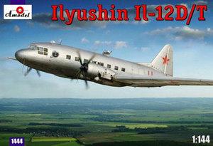 Ил-12Д/Т - 1444 Amodel 1:144
