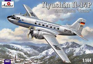 Ил-14П - 1447 Amodel 1:144