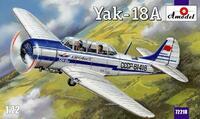 Як-18А учебно-тренировочный самолет - 72218 Amodel 1:72