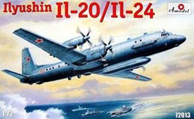 Ил-20/Ил-24 - 72013 Amodel 1:72