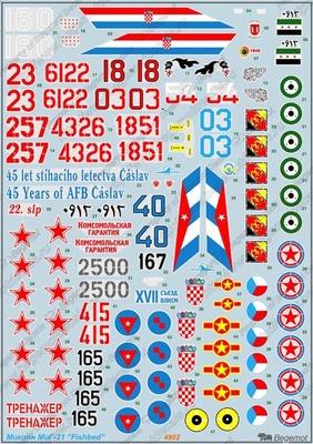Микоян МиГ-21 - Масштаб 1/48