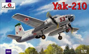 Як-210 - 72171 Amodel 1:72