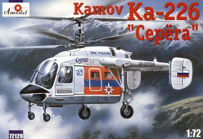 Ка-226 Серега многоцелевой вертолет - Amodel 72129 1:72